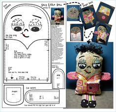 Free Fabric Doll Patterns | Recent Photos The Commons Getty Collection Galleries World Map App ...