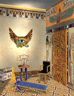 Egyptian interior design