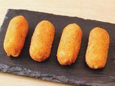 Croquetas de gambas #croquetas #gambas #camarones #langostinos #tapas #aperitivos #recetas