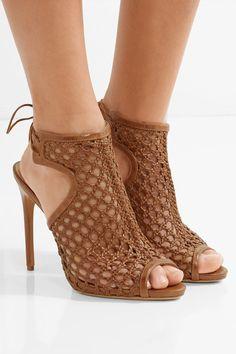 Alexandre Birman - Woven Leather Sandals - Tan - IT