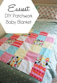 Hello Kelcey: A Blanket for Baby #2: Easiest Patchwork Baby Blanket