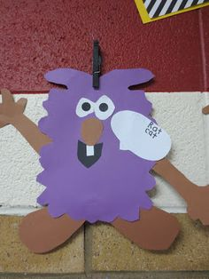 Rhyming Dust Bunnies - cute for beginning of school