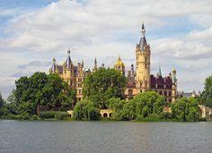 Schweriner Schloss, See, Schwerin, Schoss, Sommer