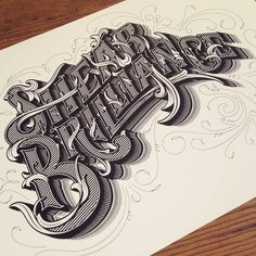 These lettering and calligraphy projects will give you a huge dose of design inspiration! These lettering and calligraphy projects will amaze you! Types Of Lettering, Lettering Design, Logo Design, Text Design, Vintage Typography, Typography Letters, Schrift Design, Typographie Inspiration, Typographie Logo