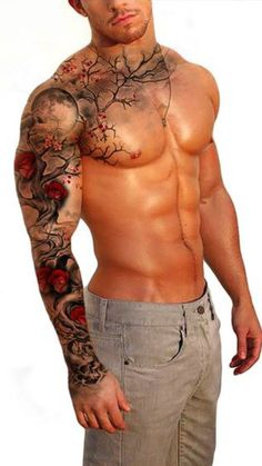 M4NTATTS #superjamaca #m4ntatts #sleevetattoo #tattoos for #guys