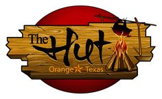 I am exited to show this new logo design for The Hut in Orange Texas. A new restaurant logo sign which I am sure will be noticed.