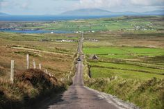 Drive this detour route, Skellig Ring,  off of Ring of Kerry. This road is cars only, no tour buses allowed. Road from Coomanaspig to Portmagee, Skellig Ring, Ireland