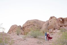 romantic photo shoot at papago park in phoenix arizona #engaged #engagement #pose #whattowear #destination #photographer