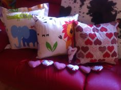 Cushions and hearts
