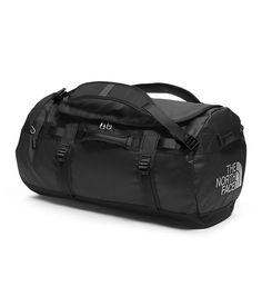The North Face Base Camp Duffel - removable shoulder straps, compression straps, carry handles in exactly the right position to grab the heavy bag when taking it off your shoulder, this bag has got it all