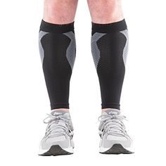 KinesioCure Shin Splint Compression Sleeves With KT Tape…