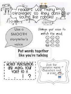 Fluency strategies - very kid friendly