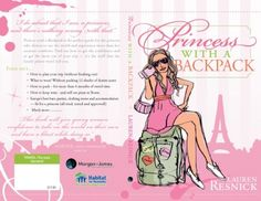 Princess With A Backpack - womens travel accessories, womens travel wallet, cosmetic travel bags, womens travel clothes, leather travel wallets, travel luggage tags, travel underwear, travel shoe bags, travel document wallet, la poche, travel wallets, travel shoes, luggage organiser, travel pillow, travel bags for women, carry on luggage, Australia