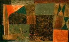 Paul Klee 'Gang zum Schiff'(Walking Towards the Boat)or(Course to the Ship)