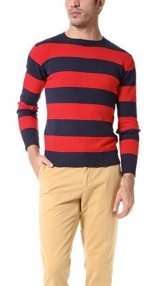 69e2128680a Gant Rugger Свитер Barstripe Sportswear, Men Sweater, Crew Neck, Collar  Pattern, Men's