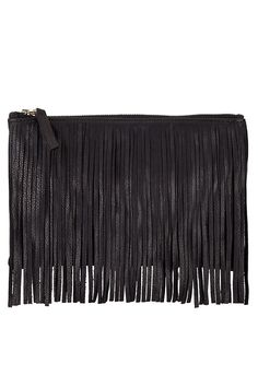 c7411f4945 fringe is the word. we took our classic clutch and as you can see