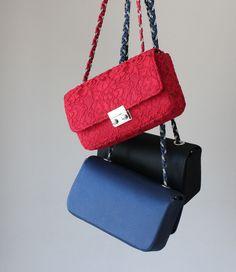 01-Flynn Black Blue & Red l Bag www.facebook.com/LalizLaymayOfficial