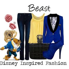 """Beast - from Disney's Beauty and the Beast"" by elliekayba on Polyvore"
