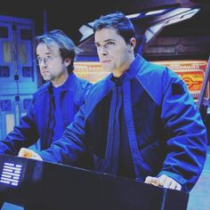 Zelenka and Major Lorne - Stargate Atlantis