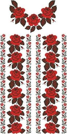 1 million+ Stunning Free Images to Use Anywhere Cross Stitch Rose, Cross Stitch Borders, Cross Stitch Flowers, Cross Stitch Charts, Cross Stitch Designs, Cross Stitch Patterns, Beading Patterns, Embroidery Patterns, Hand Embroidery