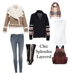 """""""Chic splendor/burberry"""" by chic-splendor on Polyvore featuring Burberry and Brunello Cucinelli"""