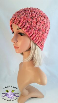 Handmade crochet hat, soft and warm.  Yarn type: Lilac and Multicolor versions - 100% Acrylic Light Yellow version: 100% Wool  HANDwash with