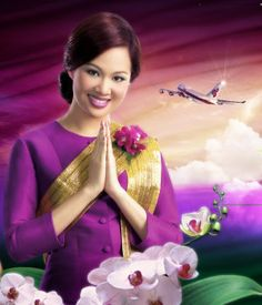 Thai Airlways Flight Attendant