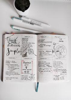 my mind palace, studyfulltime: 28•3 last week's bullet journal...