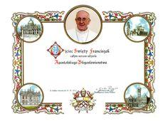 Błogosławieństwo Papieskie Apostolskie Papieża Franciszka
