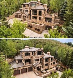 I shall have a house like this somewhere in Colorado or Montana 😍 – Top Trend – Decor – Life Style Dream House Exterior, Dream House Plans, Cabin Homes, Log Homes, Dream Home Design, My Dream Home, Montana, Colorado, Dream Mansion