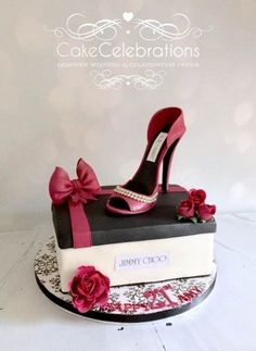 Belle chaussure lifesize cake topper gâteau d/'anniversaire Décoration