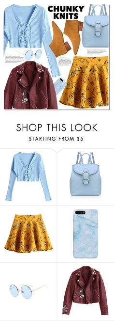 """Get Cozy: Chunky Knits"" by duma-duma ❤ liked on Polyvore featuring Anne Klein, MANGO and chunkyknits"