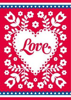 Ansichtkaart Holland Love   Postkaarten   Hip & Stip Kaarten