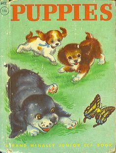 vintage puppies book | Flickr - Photo Sharing!