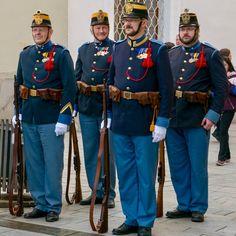 Austria, Military Uniforms, Military History, Warfare, 19th Century, Captain Hat, Brass Band Music, Concerts, Graz