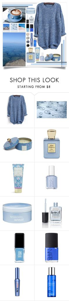 """Ocean Cafe"" by angelstylee ❤ liked on Polyvore featuring Vera Bradley, Bella Bellissima, Terre Mère, Aveda, Lauren B. Beauty, JINsoon, NARS Cosmetics, Benefit, Blue and Dark"