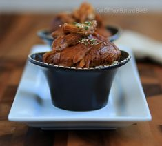 SLOW COOKER / CROCKPOT » Get Off Your Butt and BAKE!