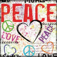 Peace Print by Louise Carey at eu.art.com
