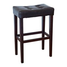 Palazzo 29 Inch Saddle Bar Stool - Brown  I want to sell my current counter stools and get these.