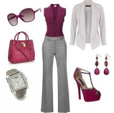 Fashionable Work Outfit Ideas for… - Wear to Work Outfits Business Fashion, Business Attire, Business Outfits, Business Casual, Business Professional, Business Women, Komplette Outfits, Office Outfits, Casual Outfits