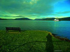 Seat Sea Ship and Shadow by James Bullis-King