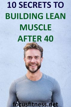 10 Secrets to Building Lean Muscle After 40 without The Gym - Focus Fitness Quick Weight Loss Diet, Best Weight Loss, Weight Loss Tips, Losing Weight, Intense Cardio Workout, Hard Workout, Workout Tips, Workout Routines, Basic Workout