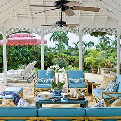Porch ceiling love
