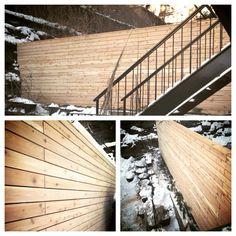 Beautiful cedar fence