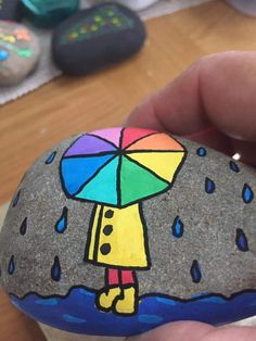 Stone Art Painting, Pebble Painting, Dot Painting, Pebble Art, Painted Garden Rocks, Painted Rocks Craft, Hand Painted Rocks, Rock Painting Patterns, Rock Painting Ideas Easy