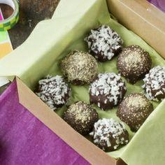 """Seven Layer"" Chocolate Truffles"