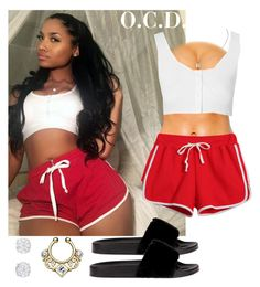 """""""Cool down."""" by oreocaker ❤ liked on Polyvore featuring Chicnova Fashion and Glamorous"""