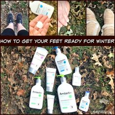 How to Get Your Feet Ready For Winter @AmLactin