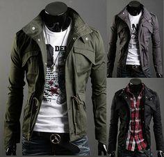Military Style Winter Jackets - Jacket - eDealRetail - 1