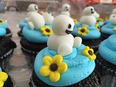 Snowgies Theme Cupcake..